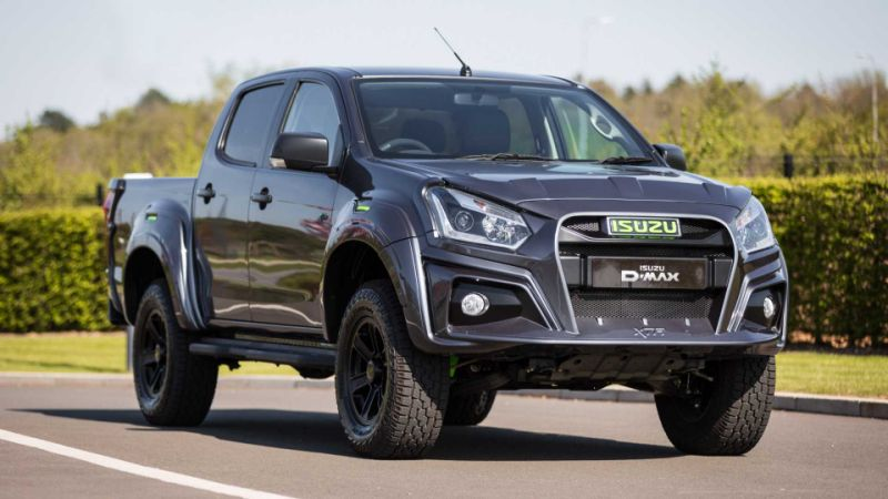 Isuzu gets creative with three special versions of the D-Max