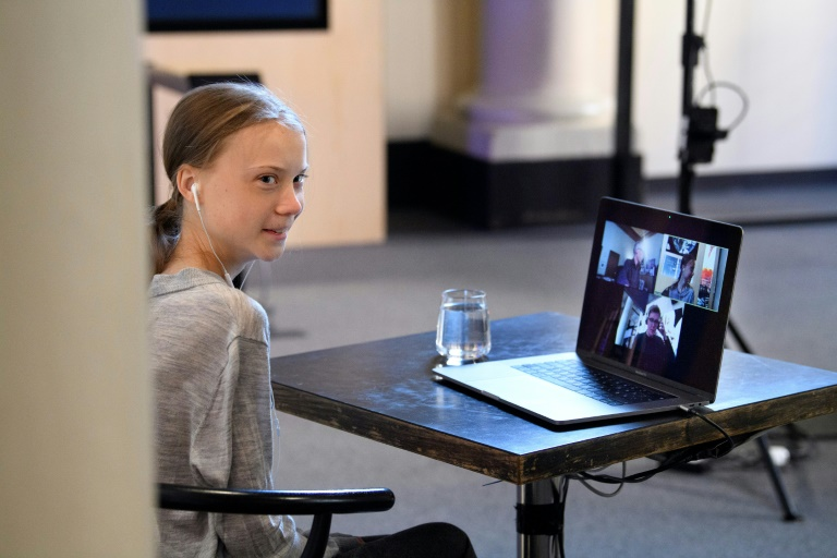 Thunberg donates $100,000 to support children during pandemic