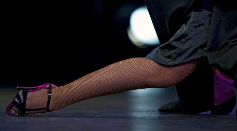Argentine tango dancers go solo awaiting embrace lost to pandemic