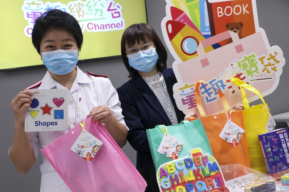 Coronavirus: gift bags, TV shows for little patients at Hong Kong Children's Hospital as social worker visits remain cancelled amid pandemic