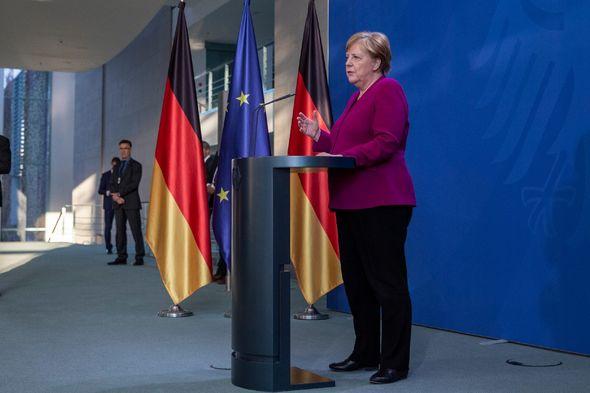 Merkel warned 'depression' to hit German economy if coronavirus outbreak spikes again