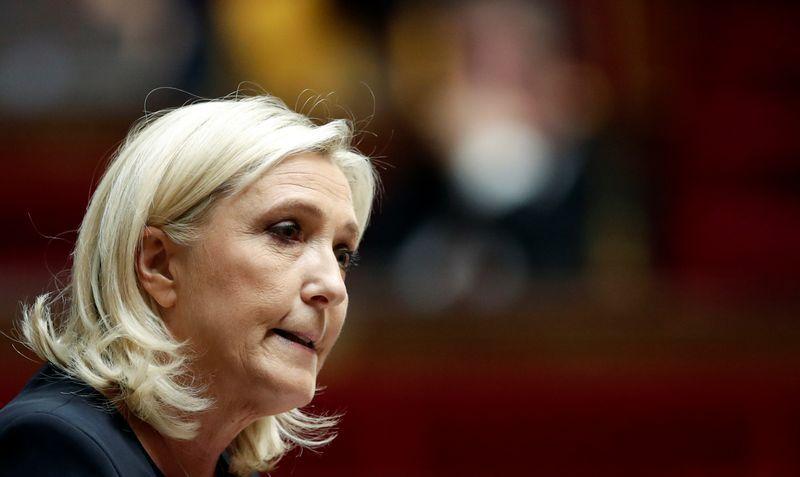 Le Pen's far-right party reaches settlement on russian bank debt - court