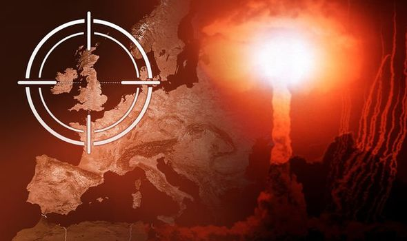 World War 3: Fears for nuclear attack on 200 locations in UK 'within 48 hours' exposed