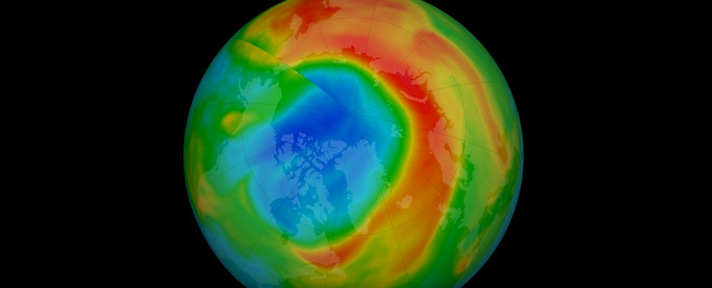 That Unusually Large Ozone Hole Over The Arctic Has Closed Up Again
