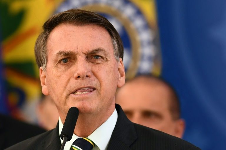 Brazil's bolsonaro embattled, but supporters loving it
