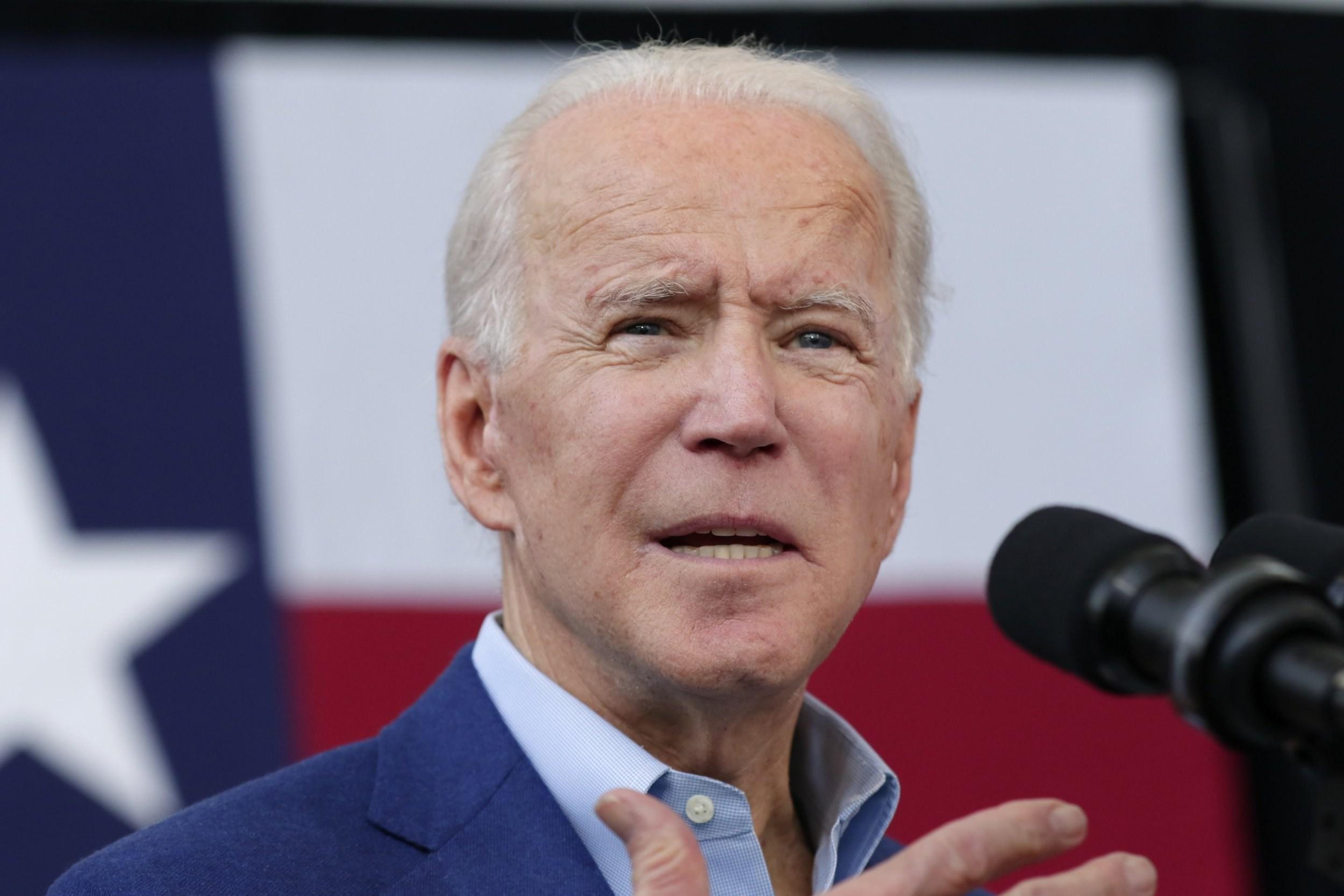US presidential hopeful Joe Biden denies pinning ex-staffer to wall and sexually assaulting her