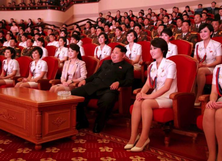 Kim Jong Un was enjoying booze-fuelled orgies with 'pleasure squad' at Wonsan villa amid death rumours?