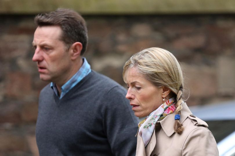 Madeleine McCann parents alone for first time on anniversary of her disappearance