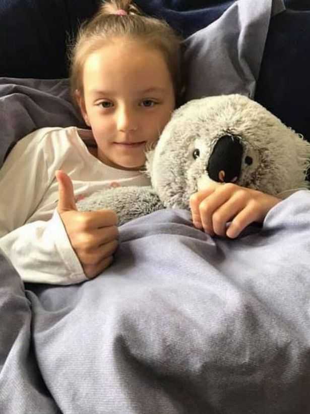 Mum's warning after daughter, 10, ends up in hospital with coronavirus