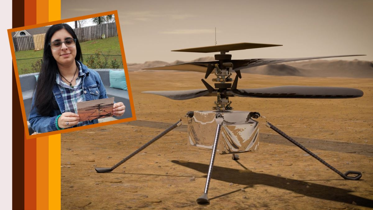 High School Student Names NASA's Mars Helicopter
