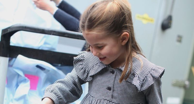 Prince William and Kate Middleton reveal brand new picture of Princess Charlotte on fifth birthday