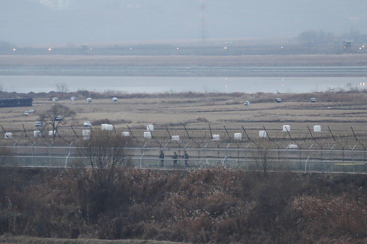 South Korea troops exchange gunfire along land border with North Korea