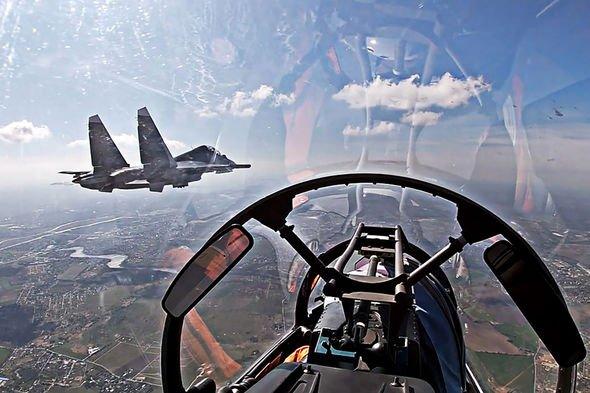 Russia vs NATO: Polish and Danish jets escort Russian bombers over Baltic