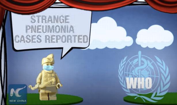 China mocks US handling of coronavirus pandemic with scathing Lego cartoon