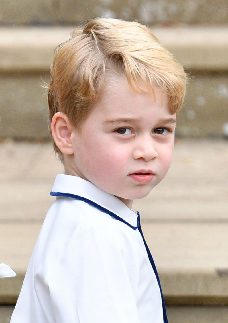 This is what all the royals looked like aged five - including the Queen, Prince Harry and Princess Beatrice