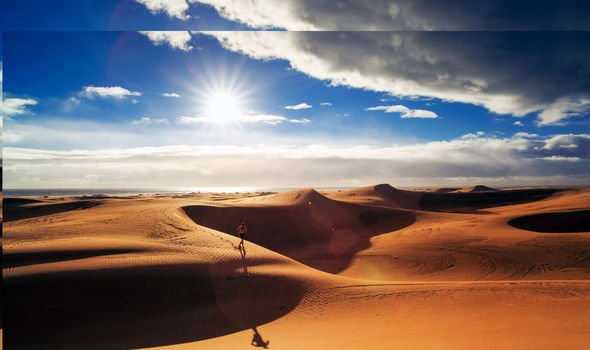 Gran Canaria's sand dunes see 'dreamy transformation' in absence of tourists