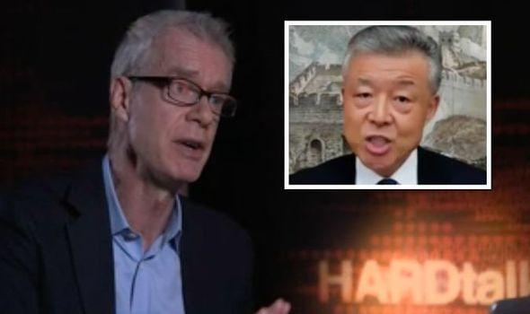 BBC News host left speechless after China ambassador DENIES Wuhan is origin of coronavirus