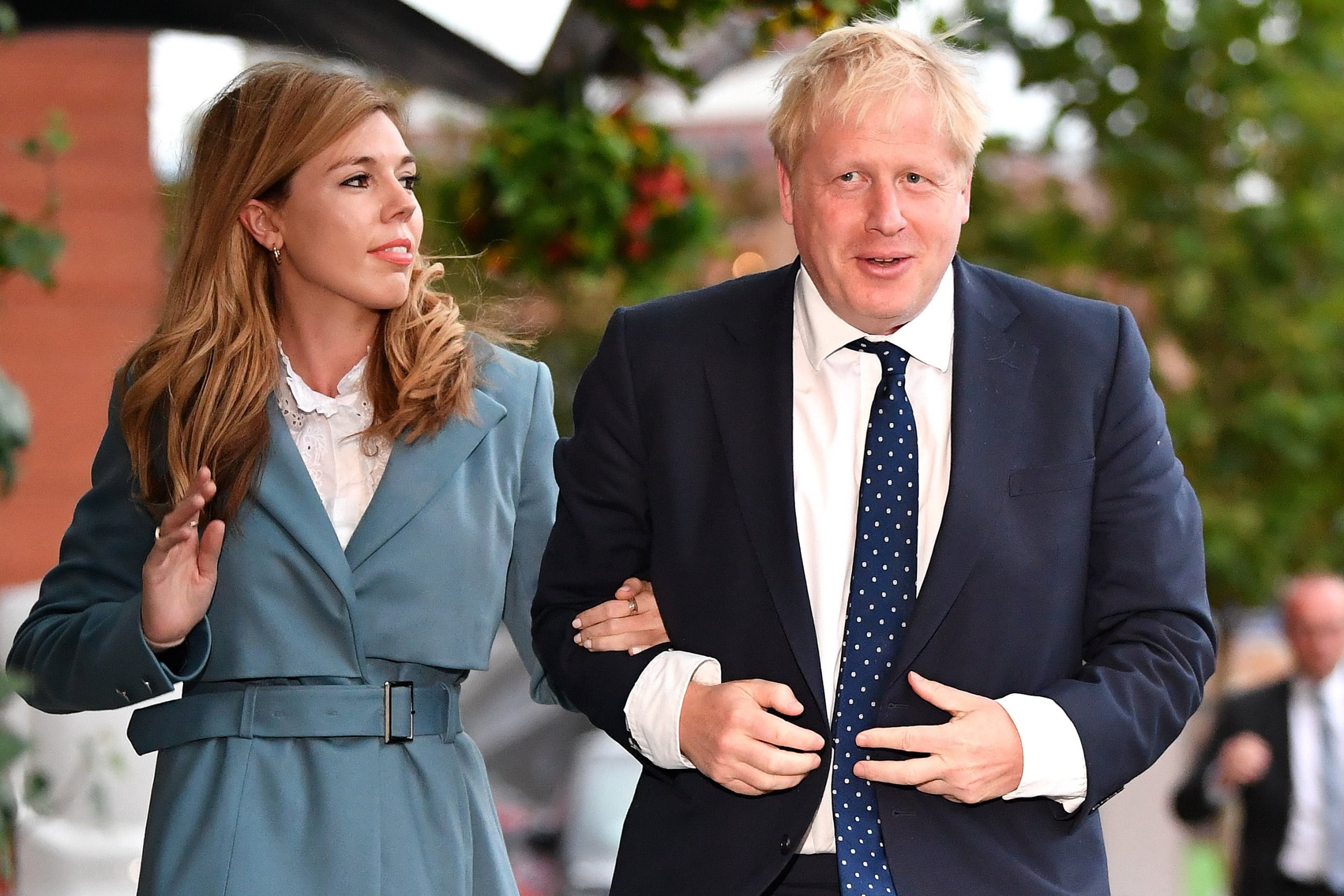 Boris and Carrie name their baby boy Wilfred after PM's grandfather
