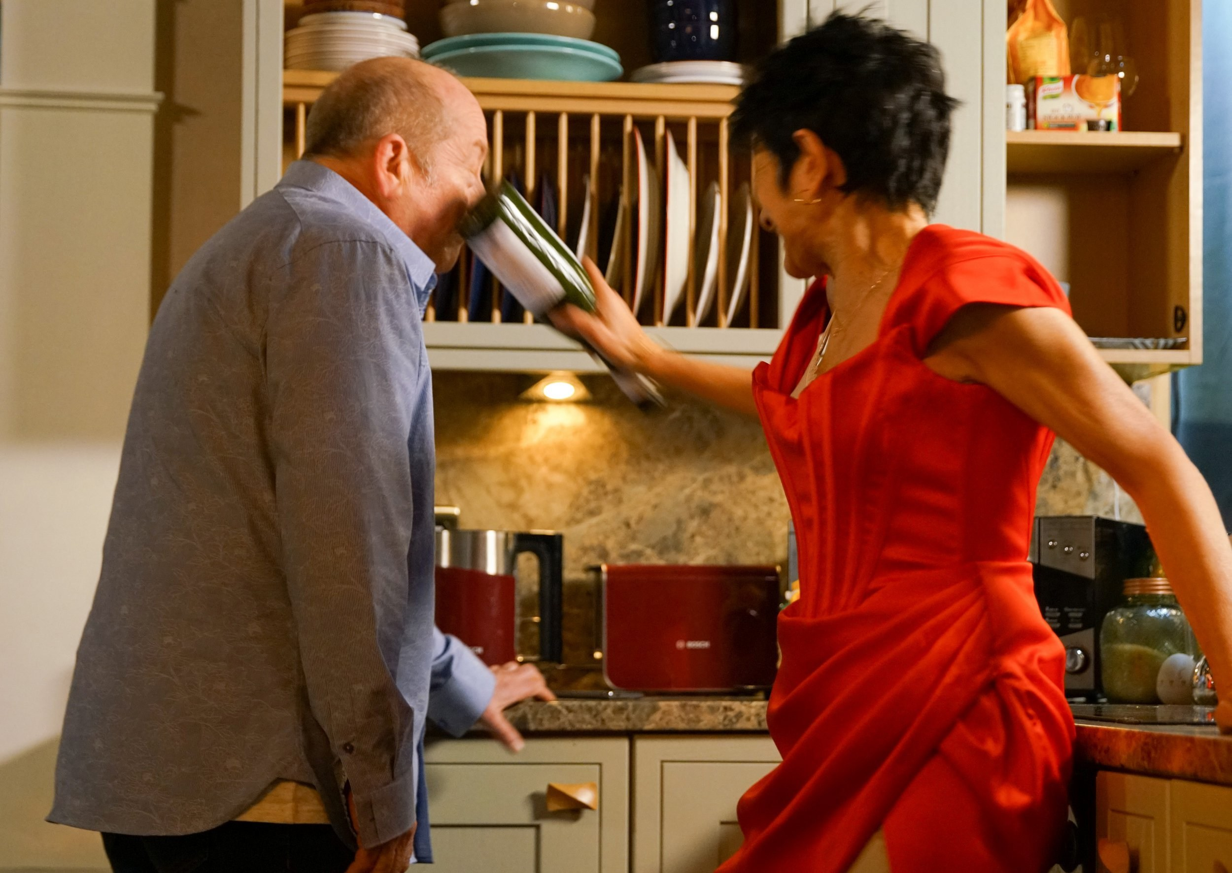 Coronation Street spoilers: Yasmeen Nazir lashes out at evil Geoff Metcalfe in special episode tonight
