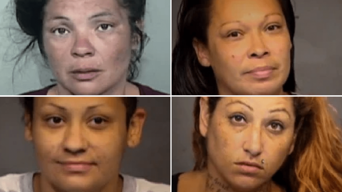 Four women 'dragged screaming mother into home and killed her after argument'