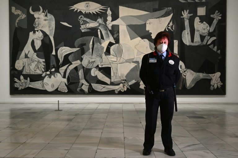 Spain's reina Sofia museum prepares to reopen in pandemic era