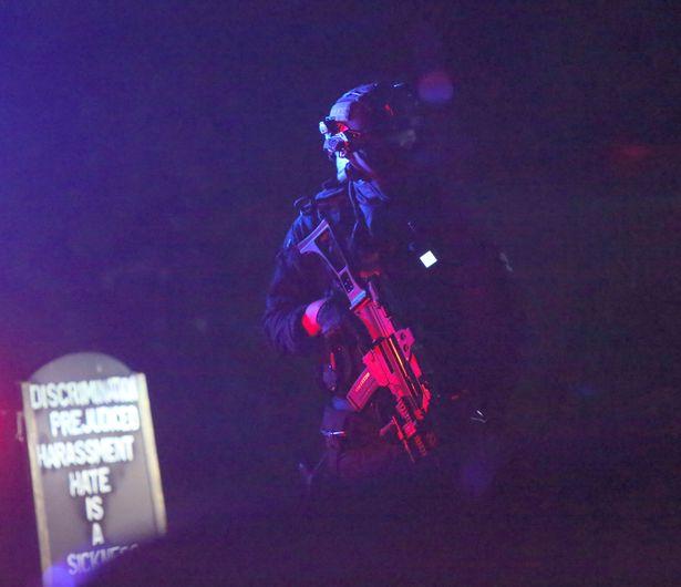 Armed police surround village pub in dramatic coronavirus lockdown swoop