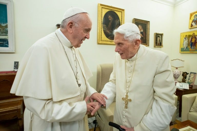 Former pope benedict complains of attempts to 'silence' him