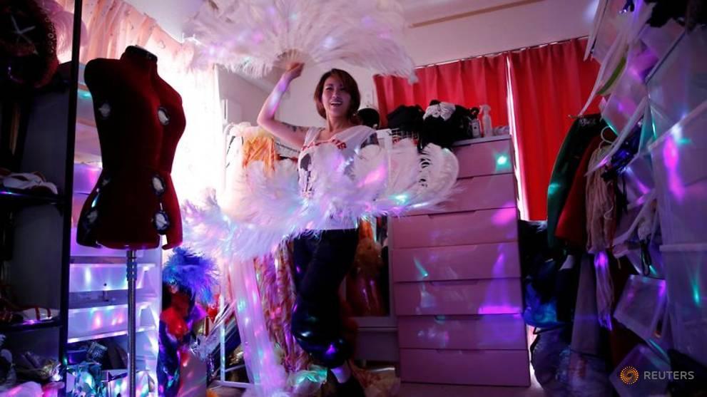 Japan's coronavirus lockdown strips exotic dancer of her savings