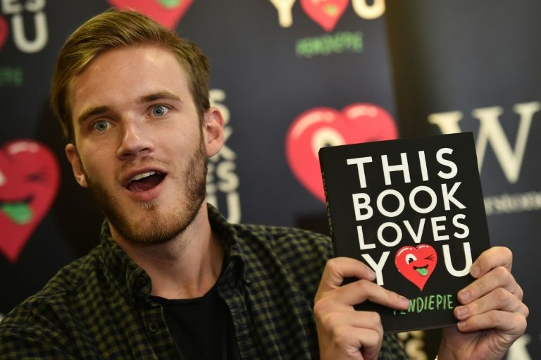 Game world star pewdiepie signs exclusive deal with youtube