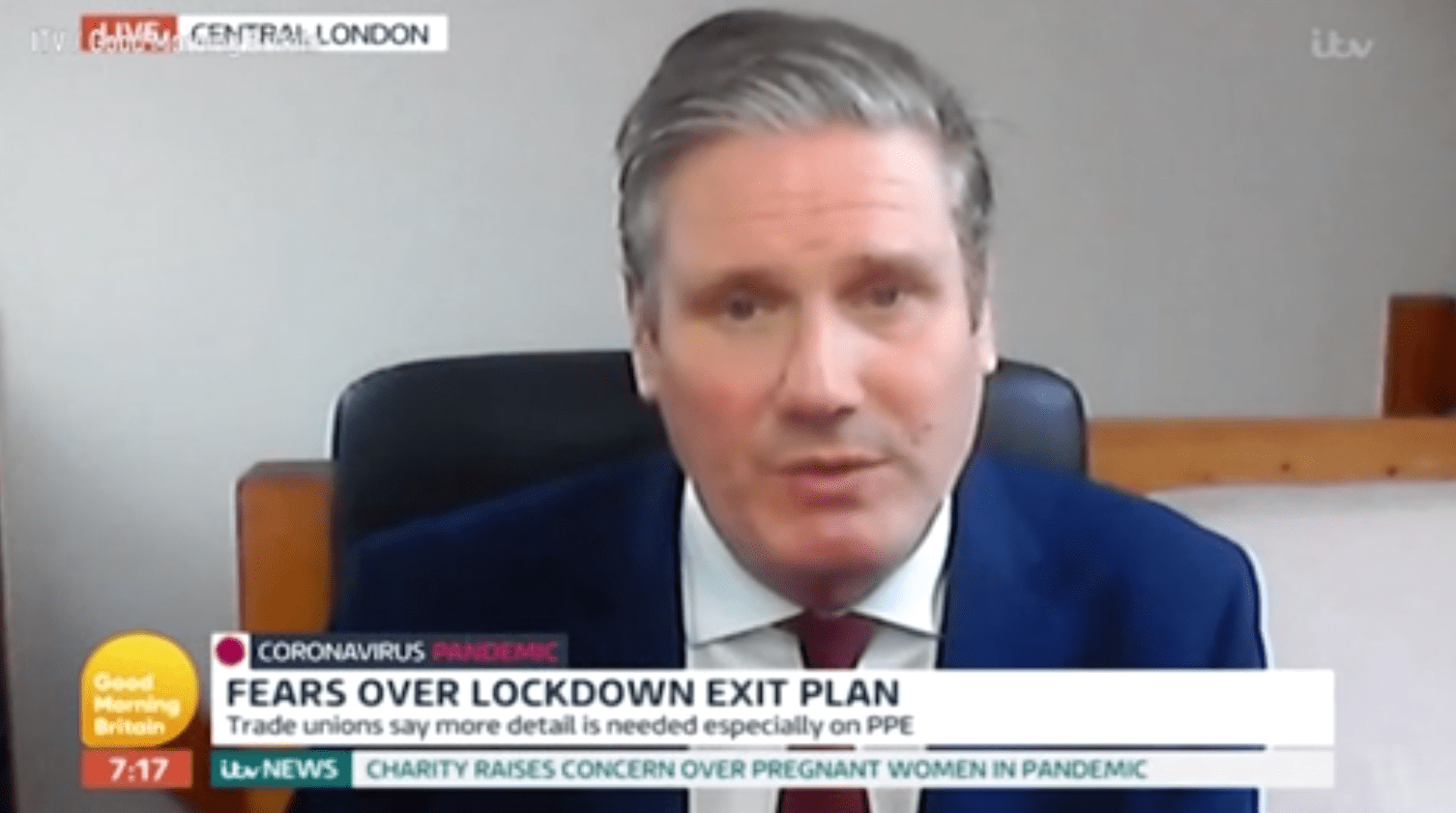 Sir Keir Starmer's signal cuts out midway through Good Morning Britain interview: 'Someone's pulled the plug'