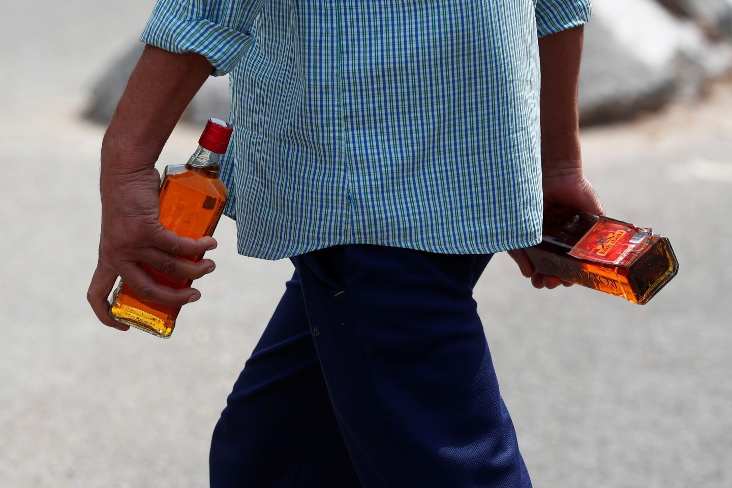 In photos: What happened when India's liquor shops reopened after 40 days of lockdown