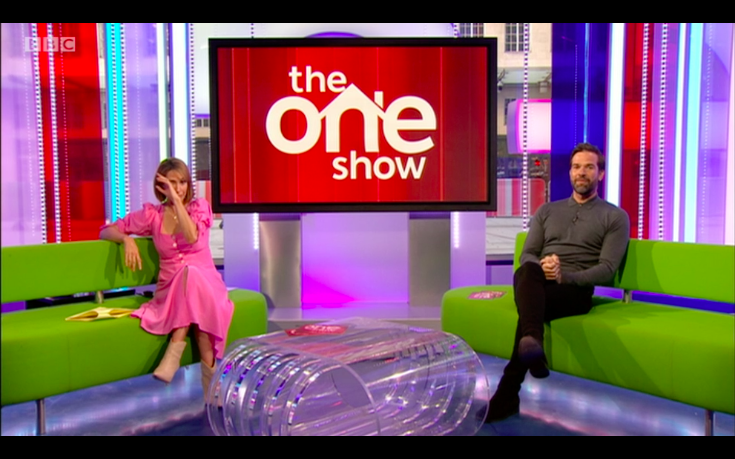 The One Show's Alex Jones in tears as Christopher Eccleston reads a poem dedicated to NHS workers during coronavirus crisis