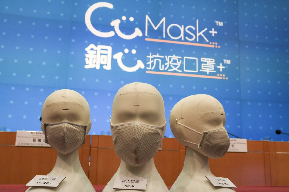 Coronavirus: Hong Kong's free mask scheme sees 100,000 people apply in first hour of website going live