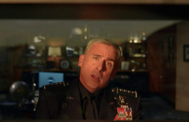 'Space Force' Teaser: Steve Carell Comforts Himself by Singing 'Kokomo' Alone in His Office (Video)