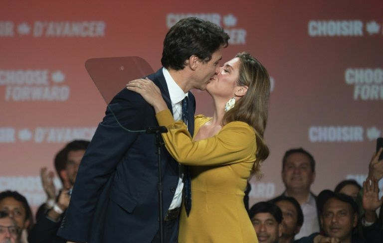 Covid-19 and living with Canada's PM trudeau 'not easy,' says wife
