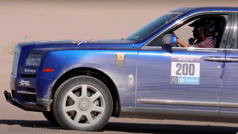 Rolls-Royce Cullinan is the most unlikely rally car