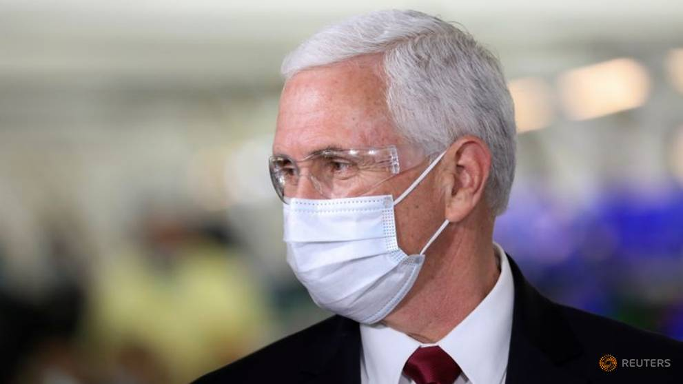 White House looking at winding down coronavirus task force: Pence