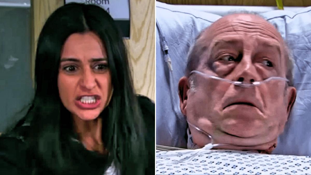 Coronation Street spoilers: Alya Nazir wishes death on Geoff Metcalfe after Yasmeen stabbing