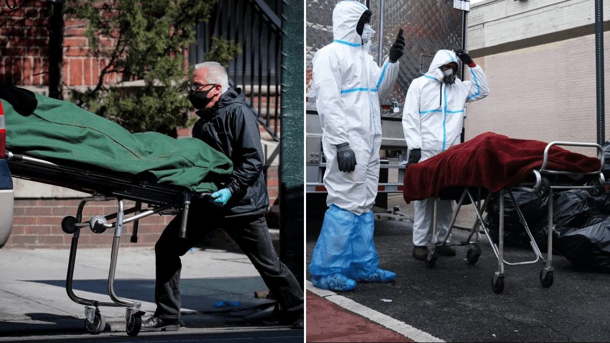 US hits 70,000 coronavirus deaths amid new prediction 134k will die in total