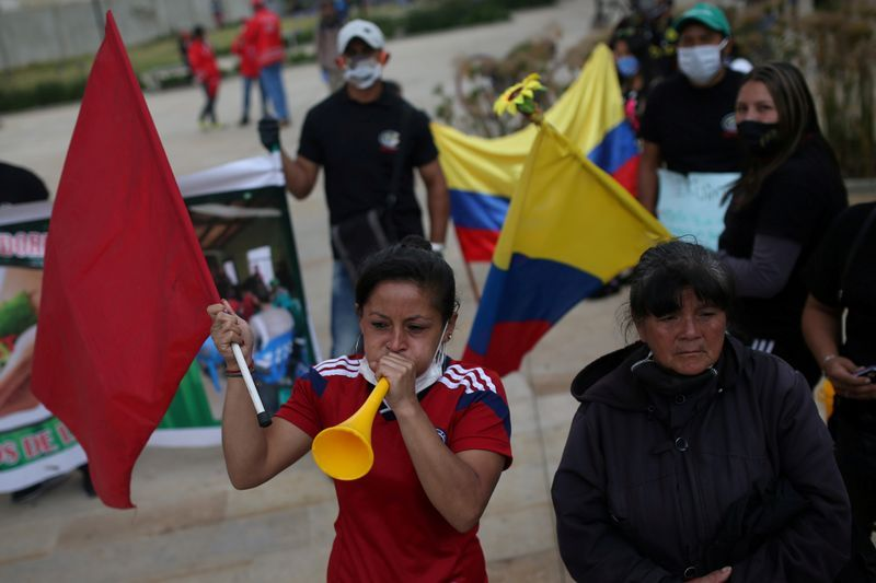 Colombian President duque declares new state of emergency to ease pain of virus lockdown