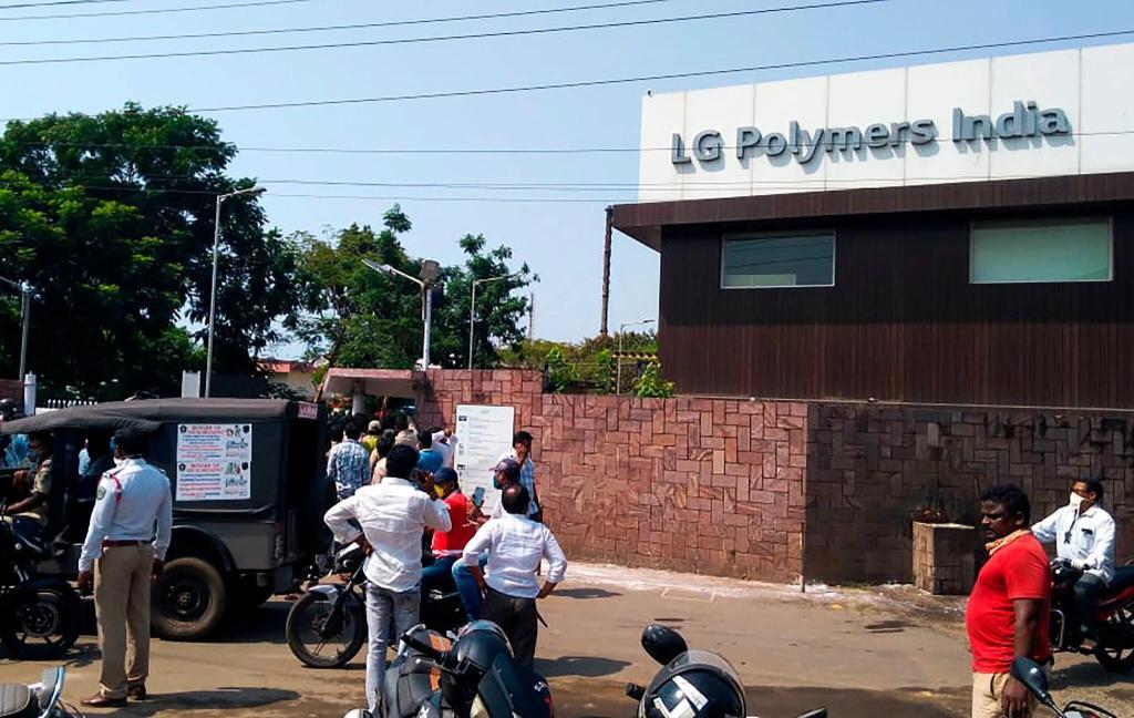 快讯!韩LG公司在印度一化工厂毒气泄露,致至少7死、数百人被紧急送医