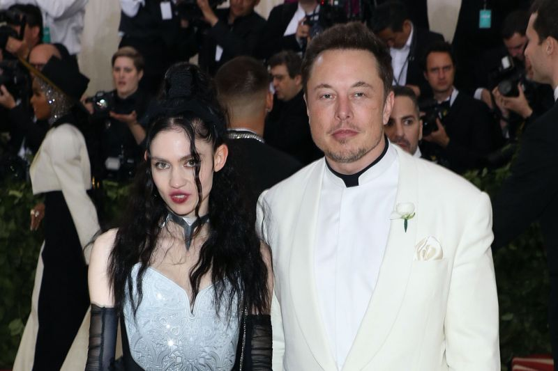 Elon musk corrects grimes' explanation of Son's name and grimes fires back