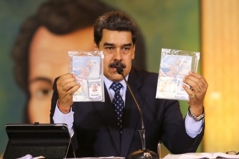 Venezuela's Maduro says captured US 'mercenaries' to be tried