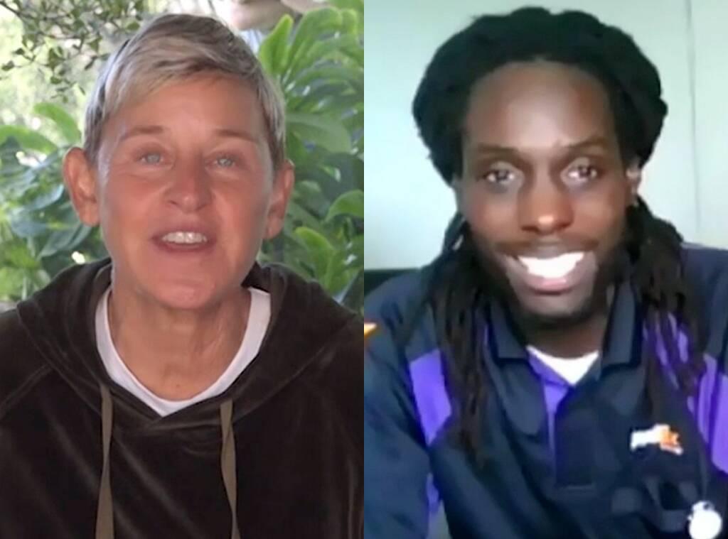 See Ellen DeGeneres' Sweet Surprise for Viral FedEx Driver