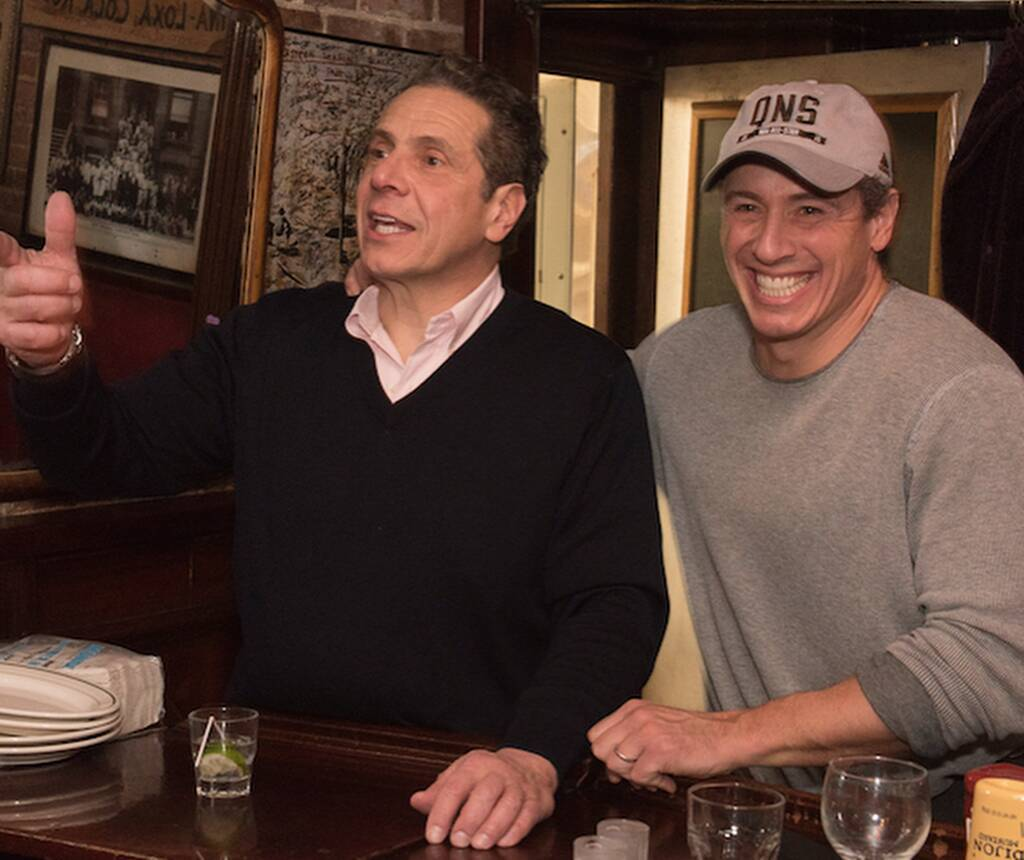 """Chris Cuomo Trolls Brother Andrew Cuomo Over His """"Single and Ready to Mingle"""" Status"""