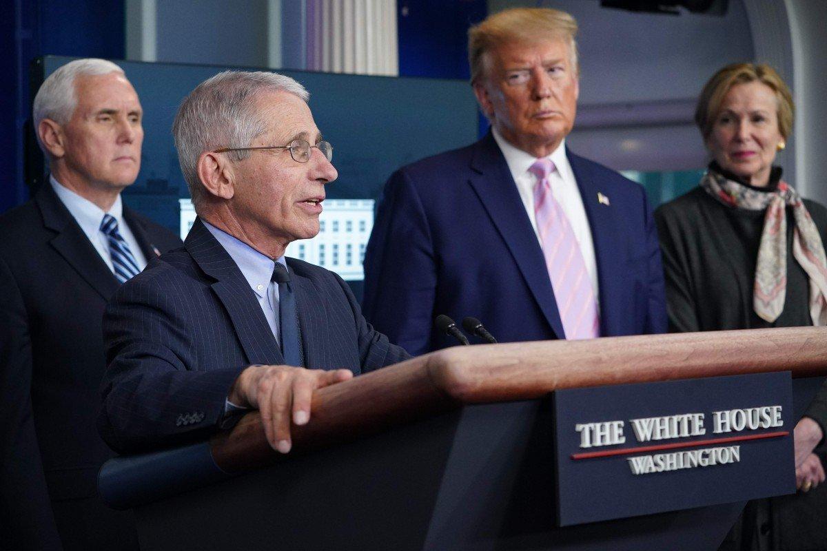 Coronavirus latest: in U-turn, Donald Trump says task force to 'continue indefinitely'