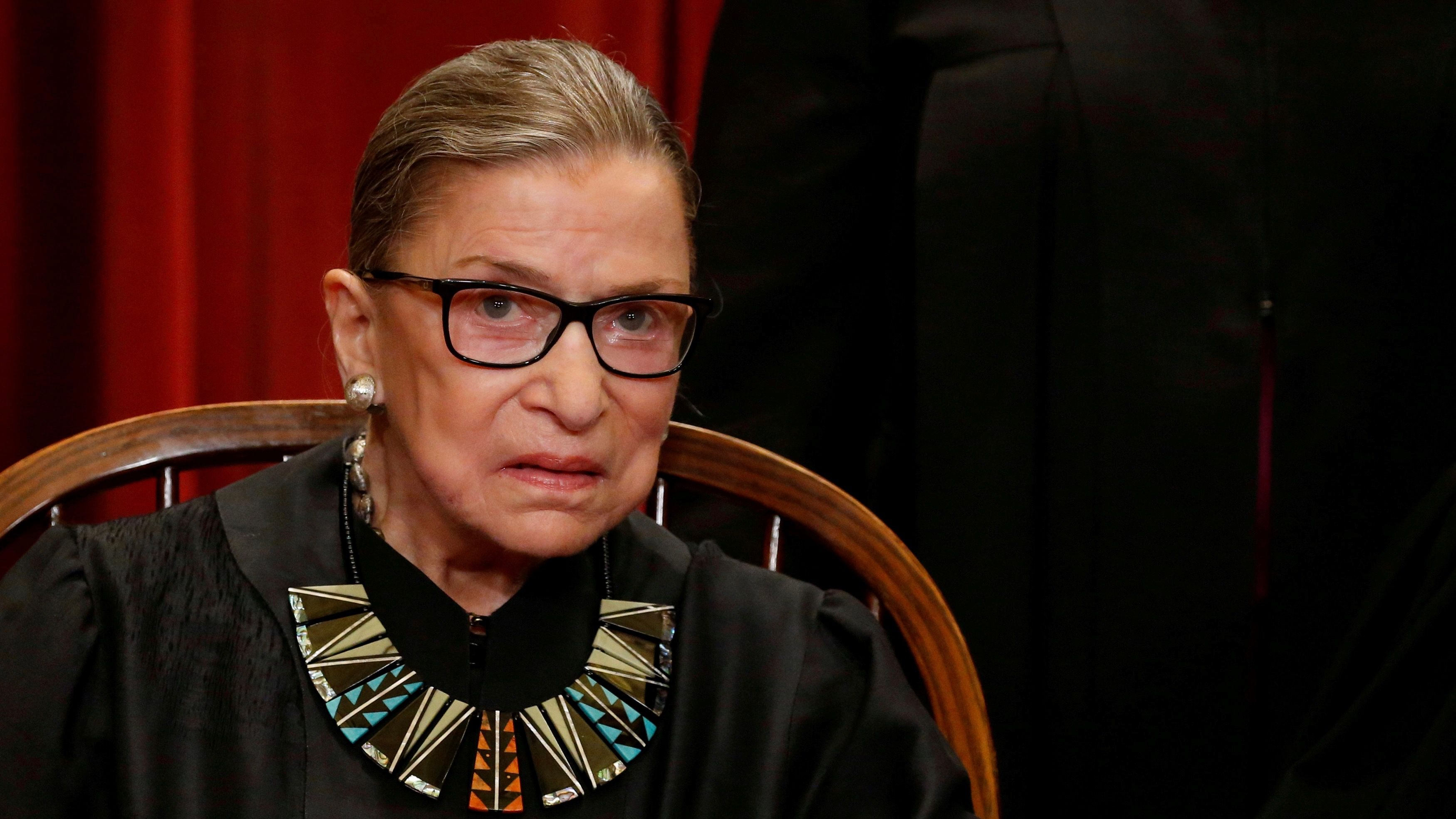 """RBG says women are being """"tossed to the wind"""" in Supreme Court birth control case"""