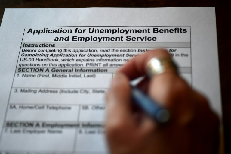 US jobless claims begin decline, but still high at 3.2 mn