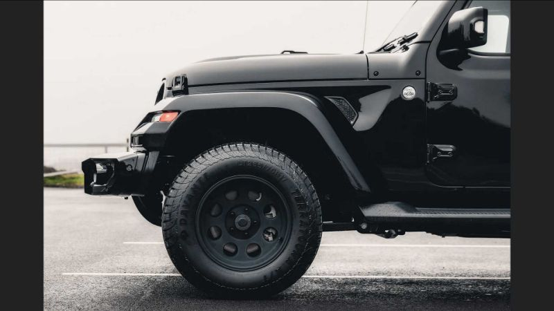 Jeep Wrangler gets luxury upfit from Sterling in UK, costs £52,995