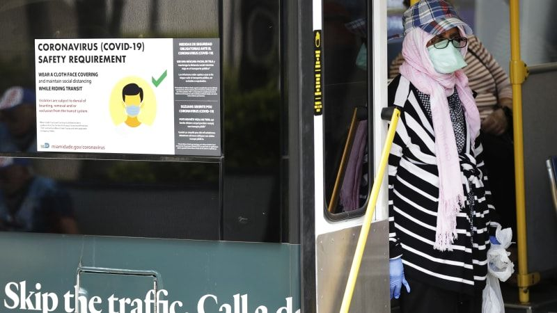 Some transit agencies turn to Uber as ridership drops during coronavirus crisis